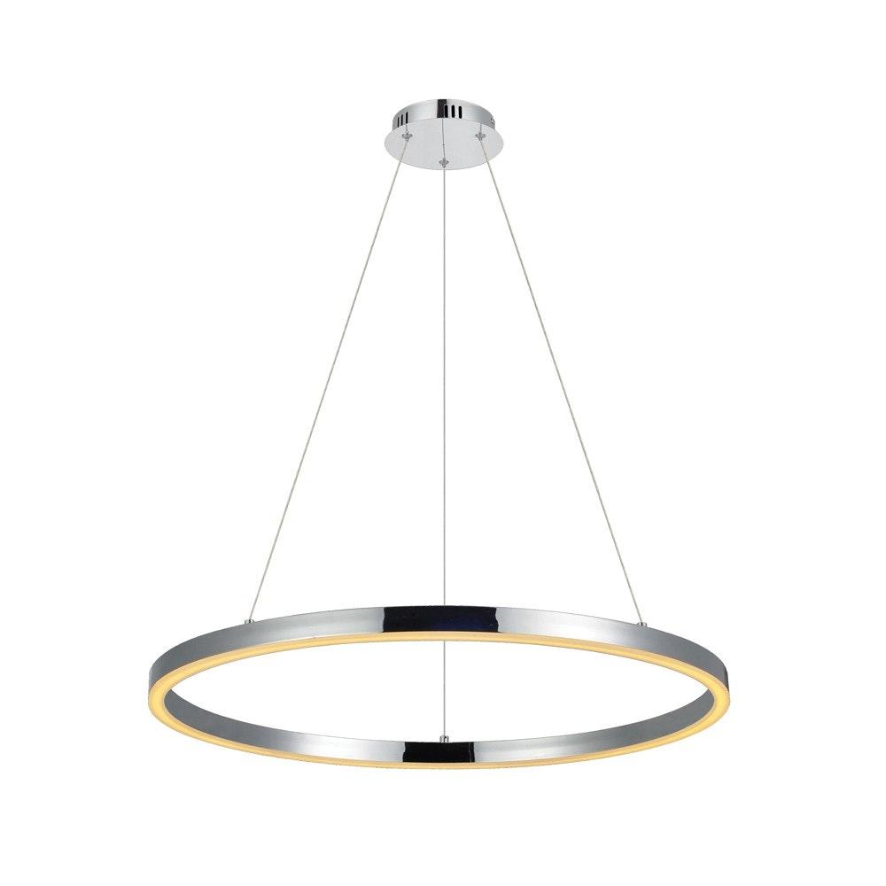 s.LUCE Ring 100 LED Hängelampe 5m Abhängung 11