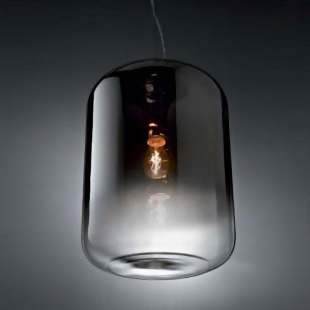 Ken Pendelleuchte verspiegelter Glaszylinder 30cm 2