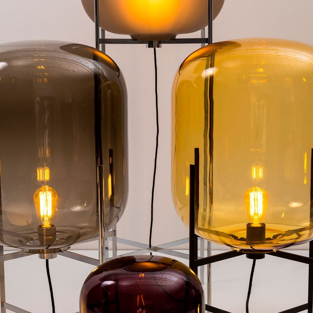 Pulpo LED Tischlampe Oda Medium Ø 45cm H 85cm 8