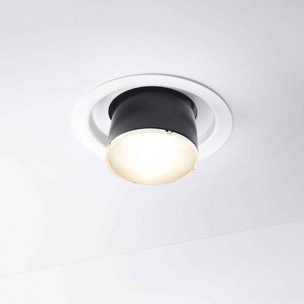 Fabbian Claque LED-Einbauleuchte Ø 13cm 2