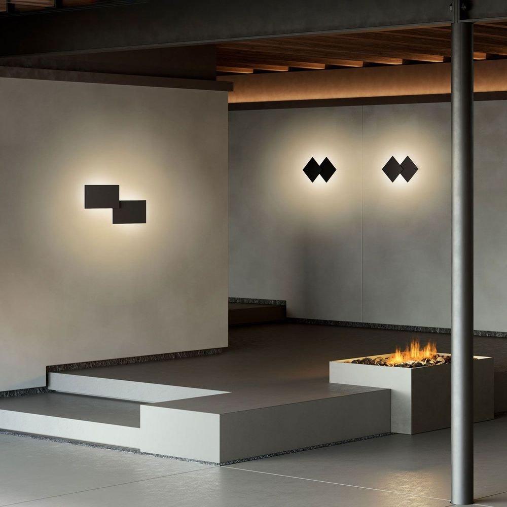 Studio Italia Design Puzzle Double eckig 48cm LED Wand- & Deckenleuchte thumbnail 6