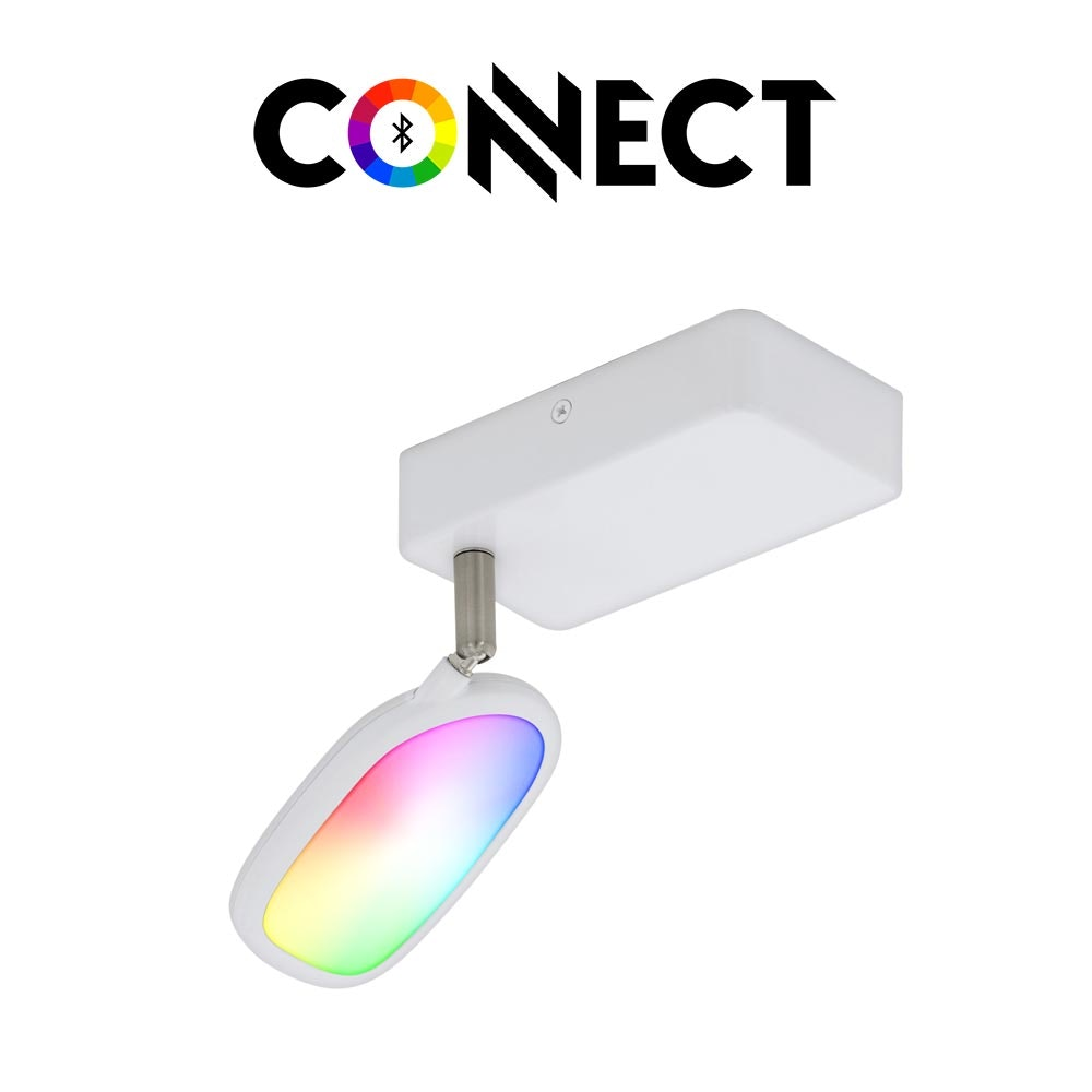 Connect LED Wandspot 600lm RGB-CCT