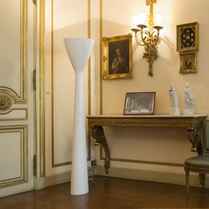 Luceplan LED Stehleuchte Carrara 185cm thumbnail 3