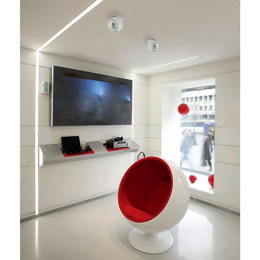 Licht-Trend LED Einbaulampe 680lm Simple Weiß 2