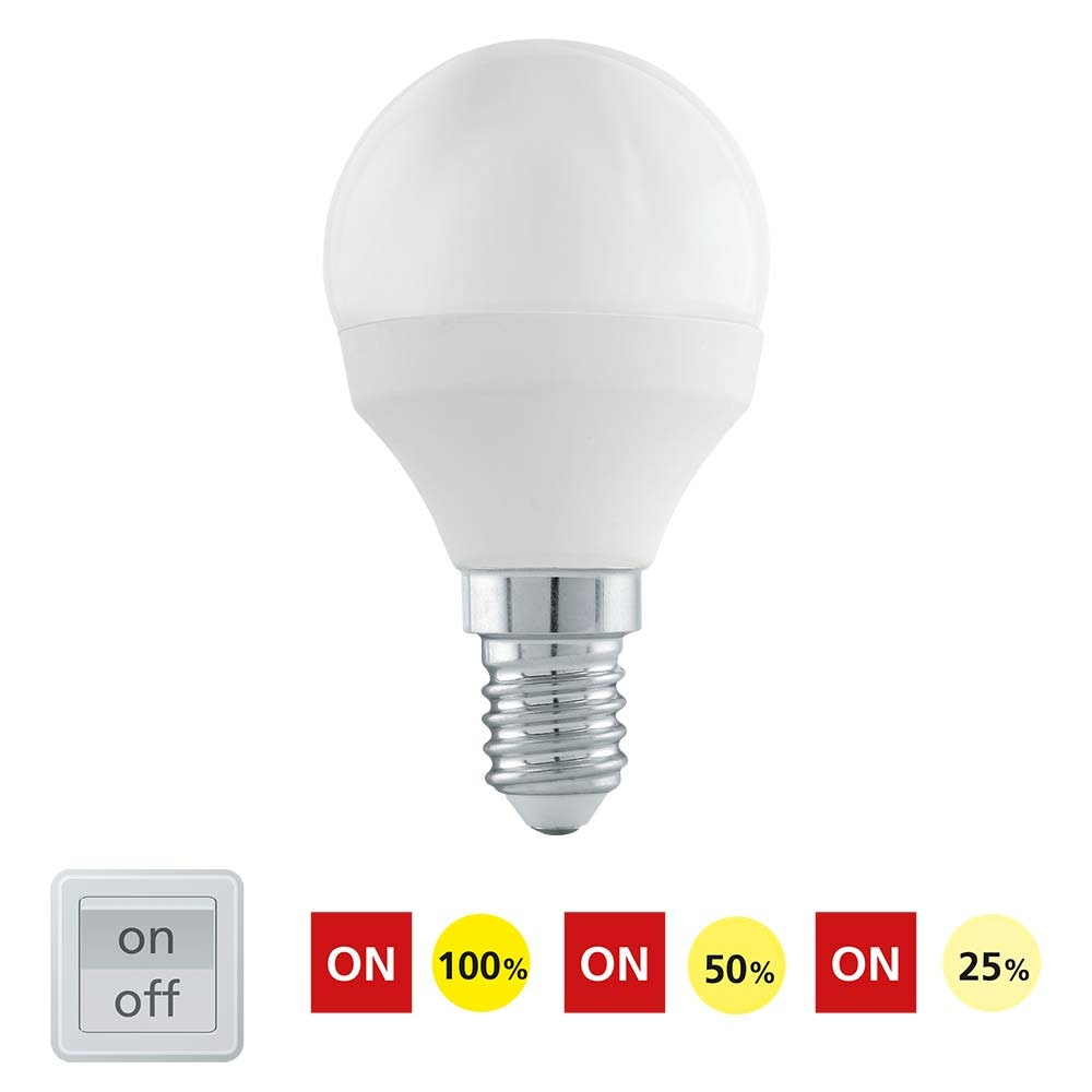 E14 LED-Leuchtmittel dimmbar per Schalter Warmweiß 6W, 470lm thumbnail 5