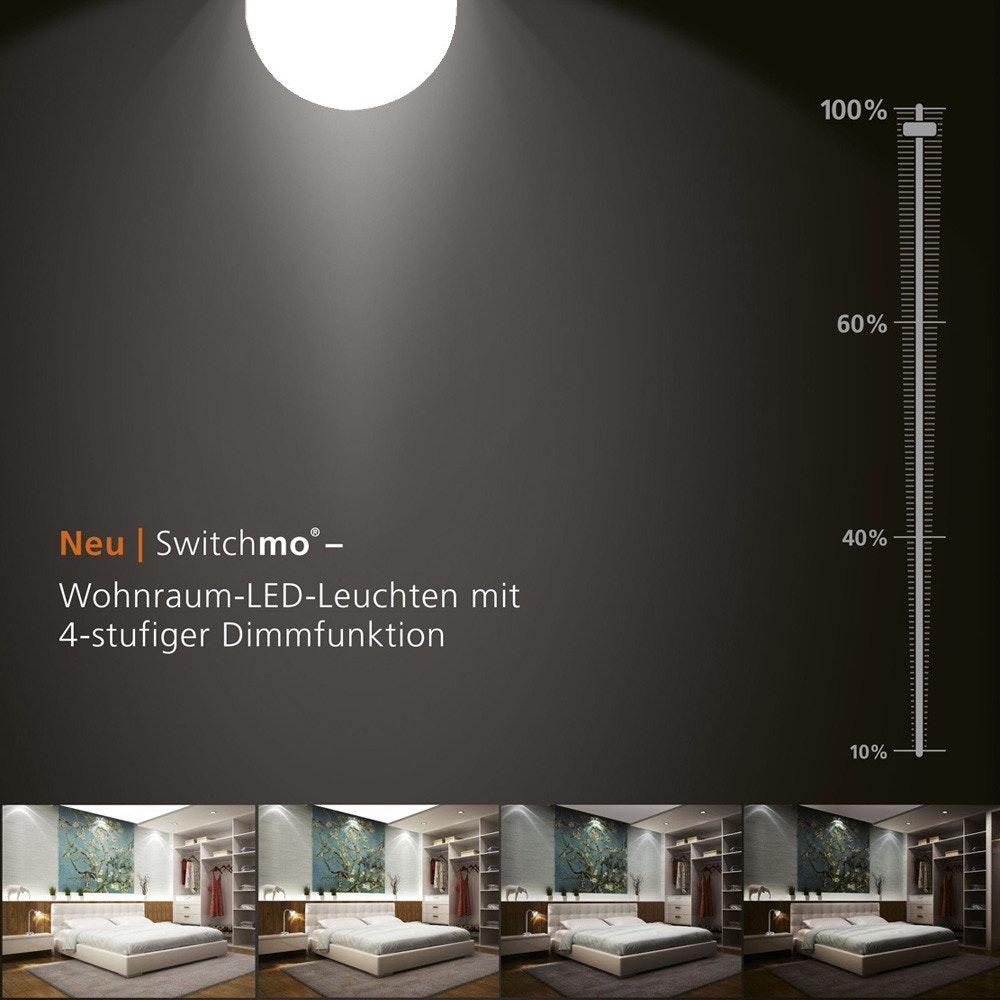 E14 LED Switchmo Dimmbar Warmweiß 250lm 3,5W thumbnail 3