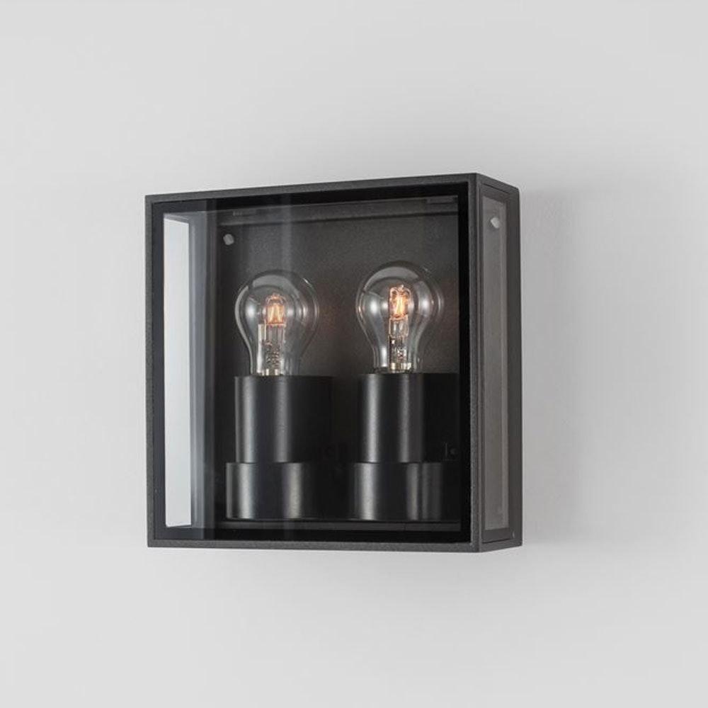 Nova Luce Sorren Vintage Aussen Wandlampe Anthrazit 2
