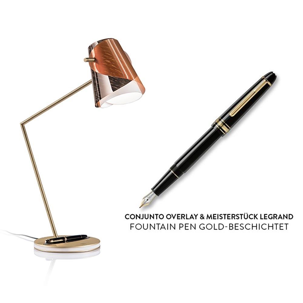 Slamp LED Schreibtischlampe Overlay & Montblanc Meisterstück Le Grand thumbnail 5