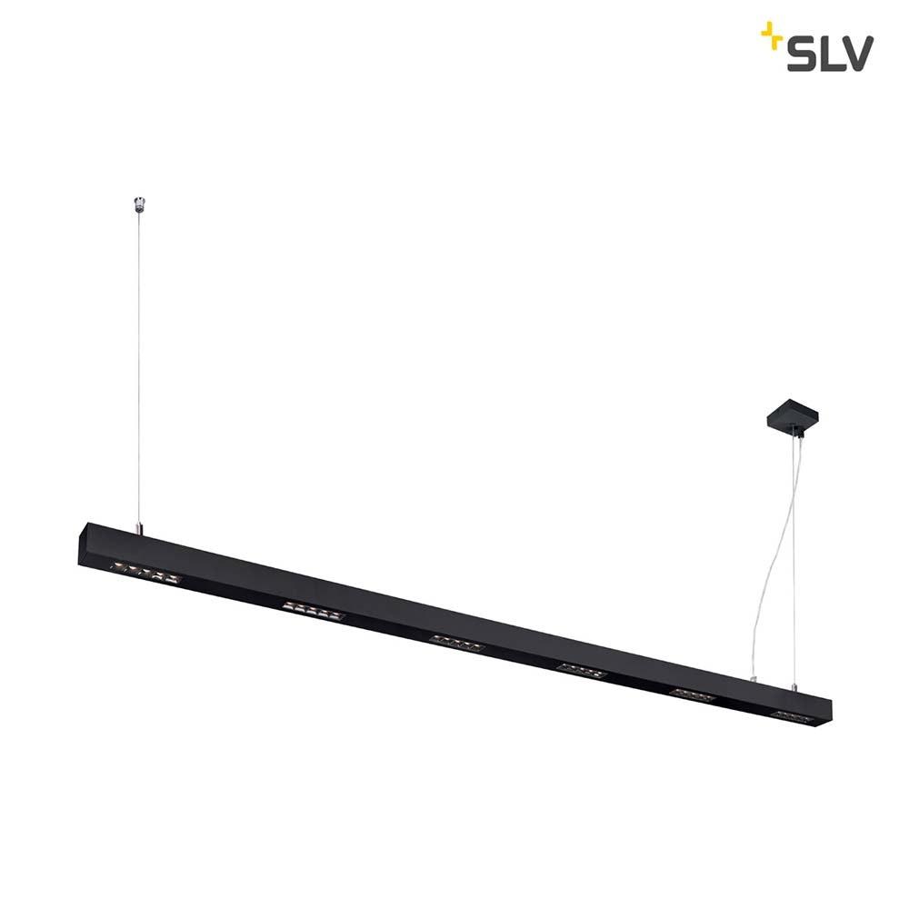 SLV Q-Line LED Pendelleuchte 2m Schwarz 3000K 1