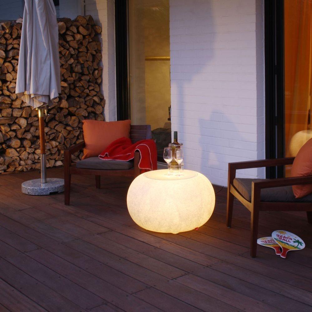 Moree Granit Bubble Outdoor LED Tisch oder Hocker thumbnail 4