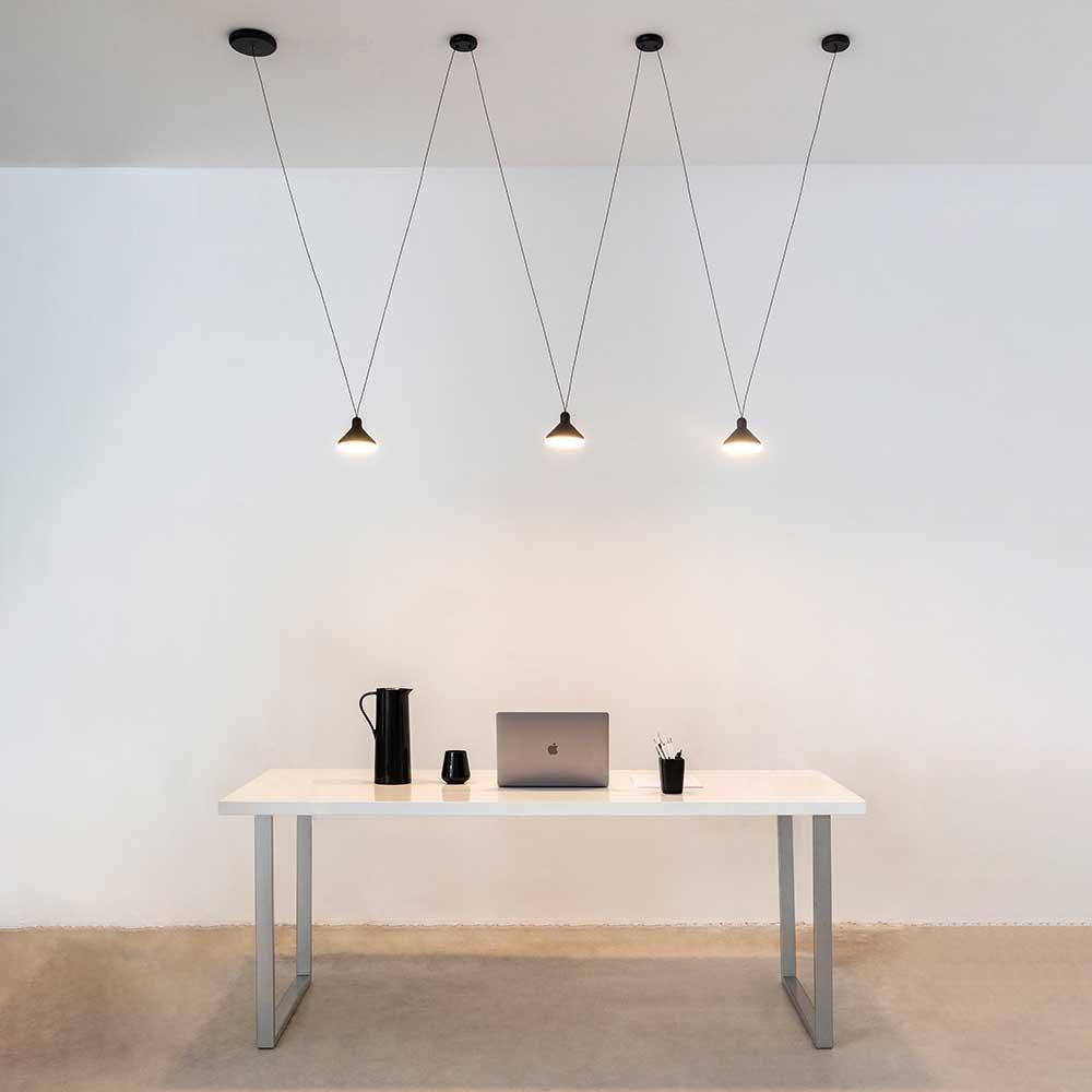 Mantra LED-Hängeleuchte Antares 6