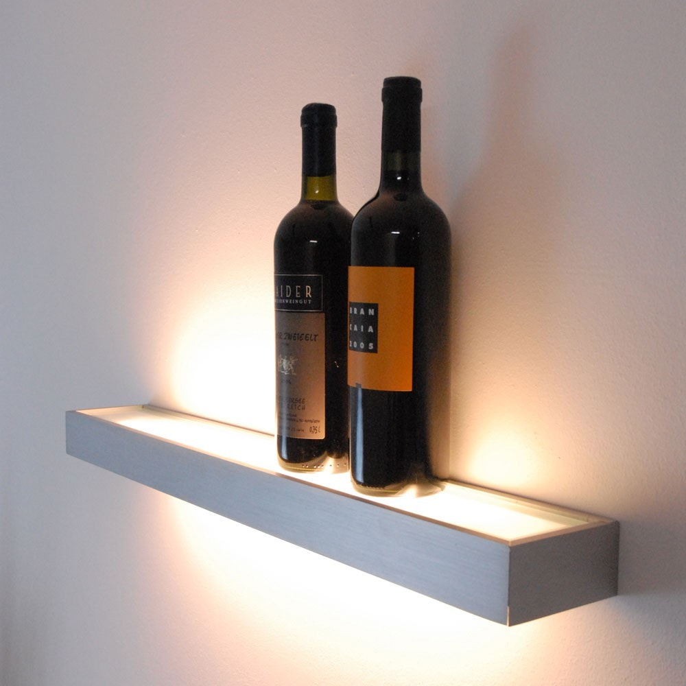 s.LUCE Cusa LED-Lichtboard 70cm Wandleuchte Up&Down Alu-gebürstet 1