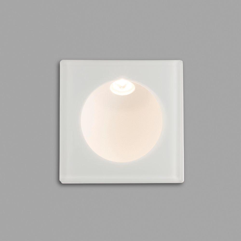 LED Wand-Einbaulampe GALO 3W 3000K IP54 Weiß 2