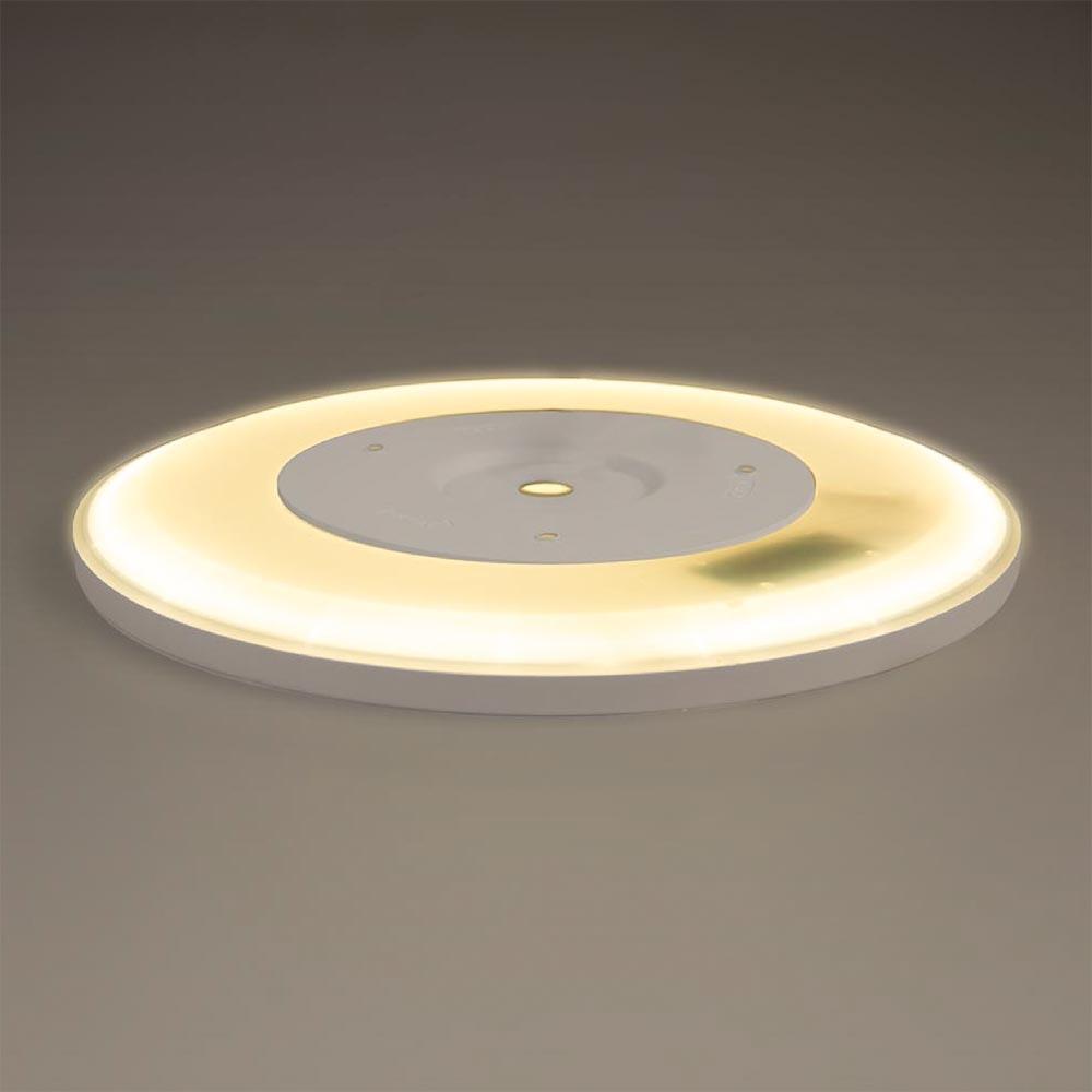 LED Deckenlampe Board 29 Direkt & Indirekt 2700K Dimmbar per Schalter Weiß 6