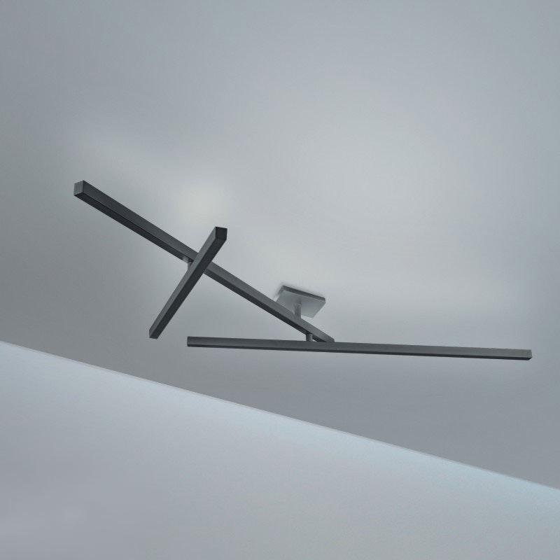 Panzeri Carmen LED Wand- oder Deckenleuchte drehbar 1