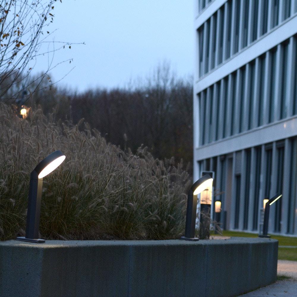 Meridian LED-Wegeleuchte IP44 800lm Anthrazit 6