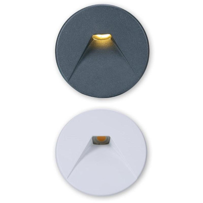 Abdeckung Sys-Wall 68 für LED-Wandeinbaustrahler Rund 2 1