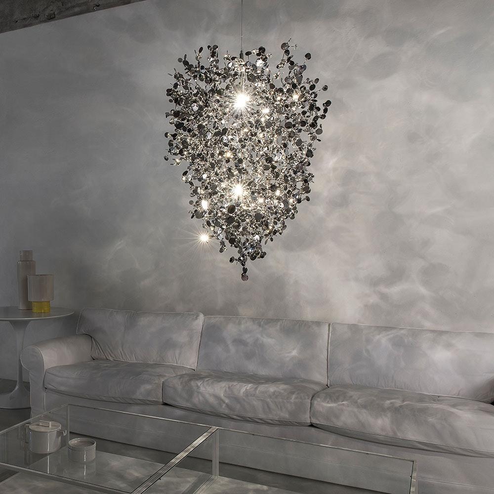 Terzani Argent Design-Pendelleuchte Ø 60cm 1