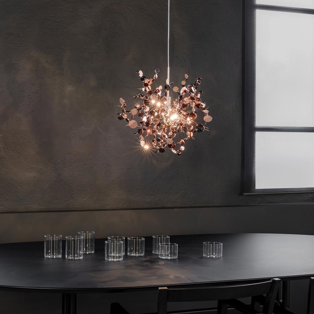 Terzani Argent Design-Pendelleuchte Ø 40cm 3