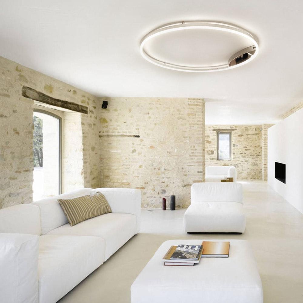 s.LUCE Ring 60 LED Wand & Deckenleuchte Dimmbar 3