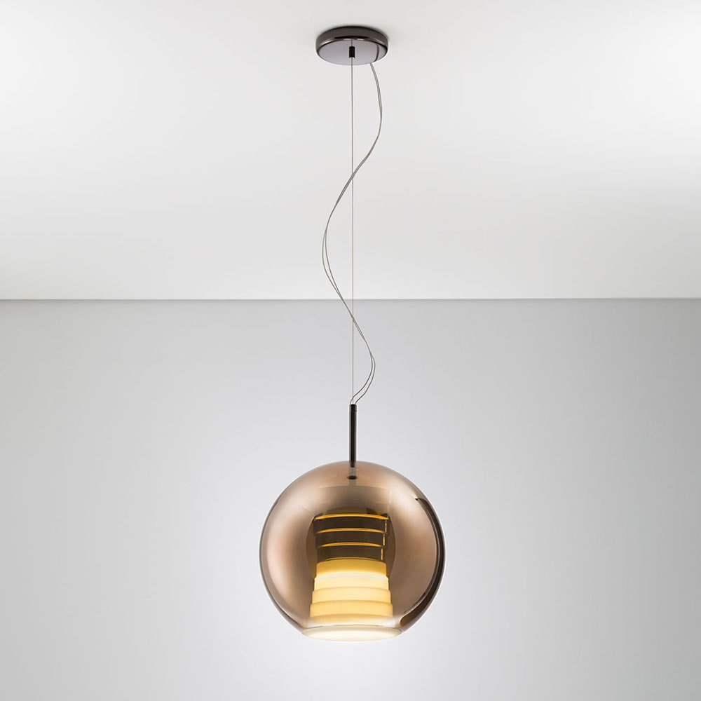 Fabbian Beluga Royal LED-Pendelleuchte Ø30cm 3