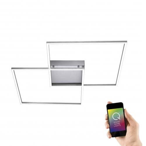 LED Deckenlampe Q-Inigo 2x 28W CCT 1