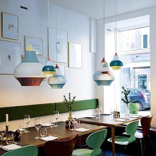 Dänische Lampe Restaurant Hängeleuchte