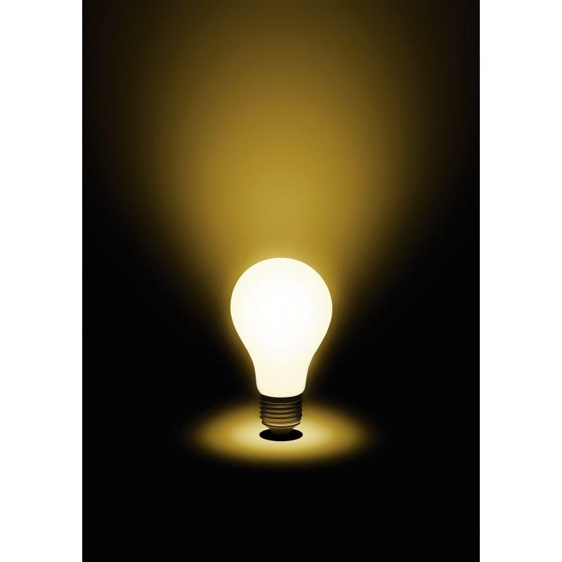 E27 LED Leuchtmittel Milky 7W dimmbar Opal Warmweiß 2