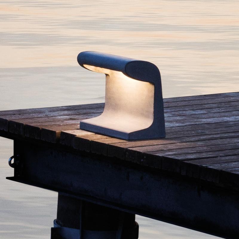 Nemo Borne Béton Grande Outdoor LED Stehlampe IP44 thumbnail 3