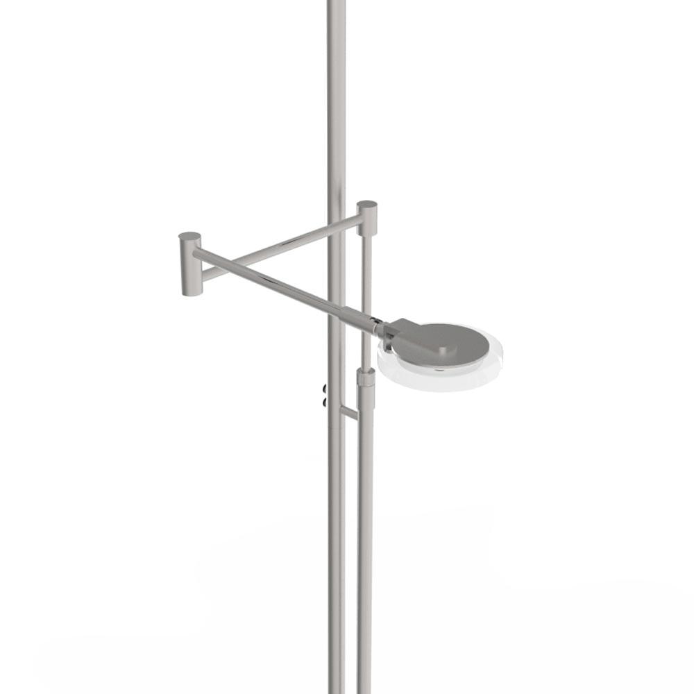 Steinhauer LED-Deckenfluter Turound LED mit Lesearm Tastdimmer 2700K 8