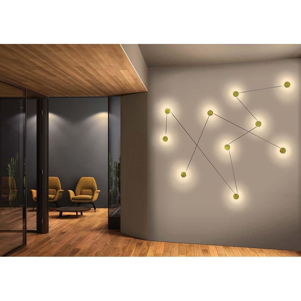 Kundalini LED-Wandleuchte Azou 3-flammig Dimmbar 1