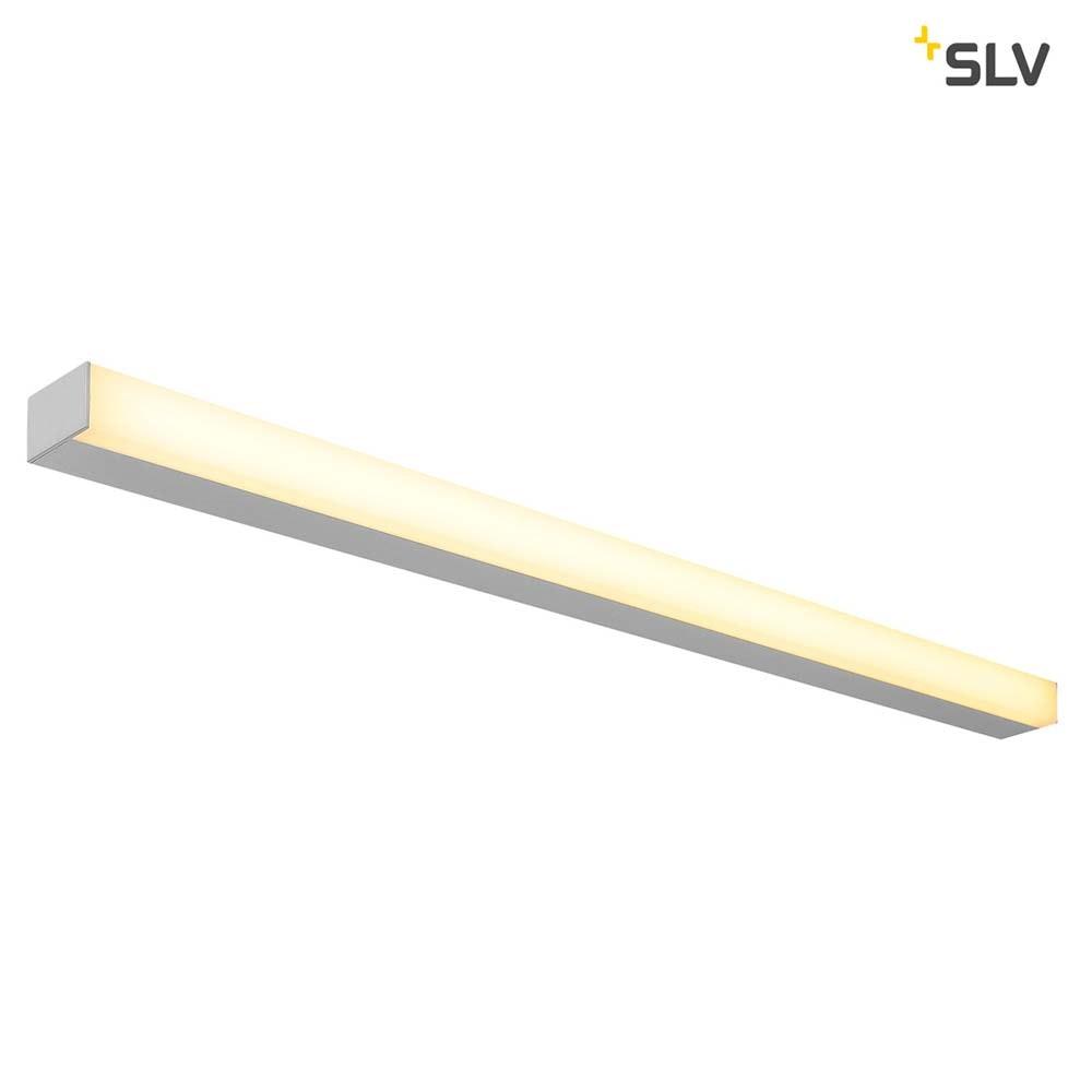 SLV Sight LED Wand- & Deckenleuchte Silbergrau 1