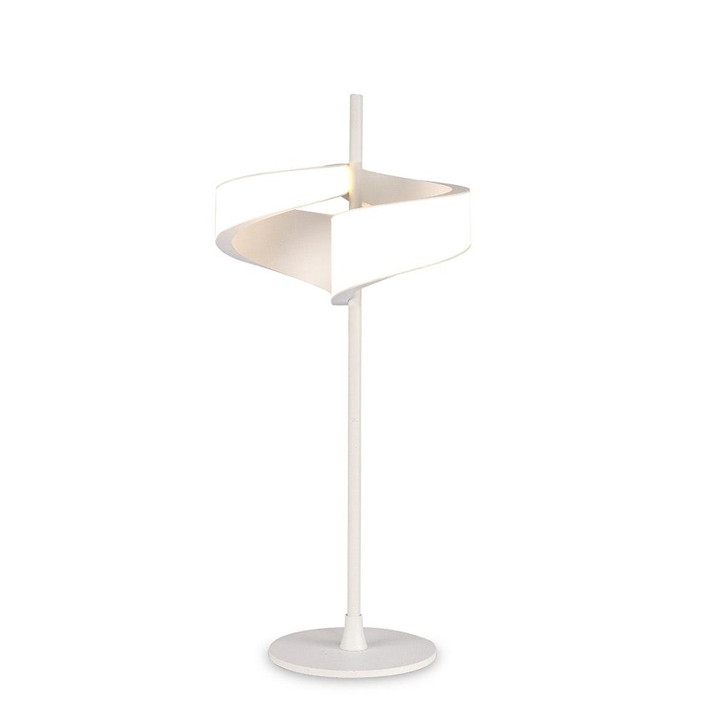 Mantra Tsunami Doppel-LED-Tischleuchte Weiß 2