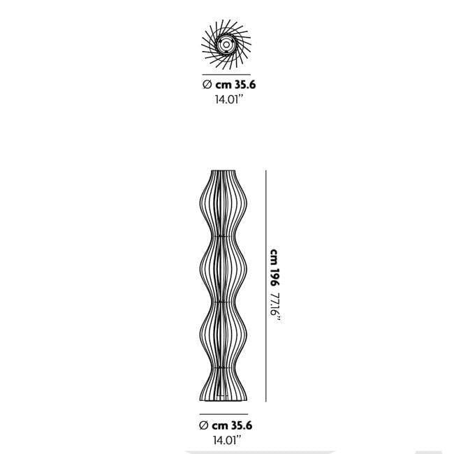Lodes Vapor Stehlampe 196cm 7