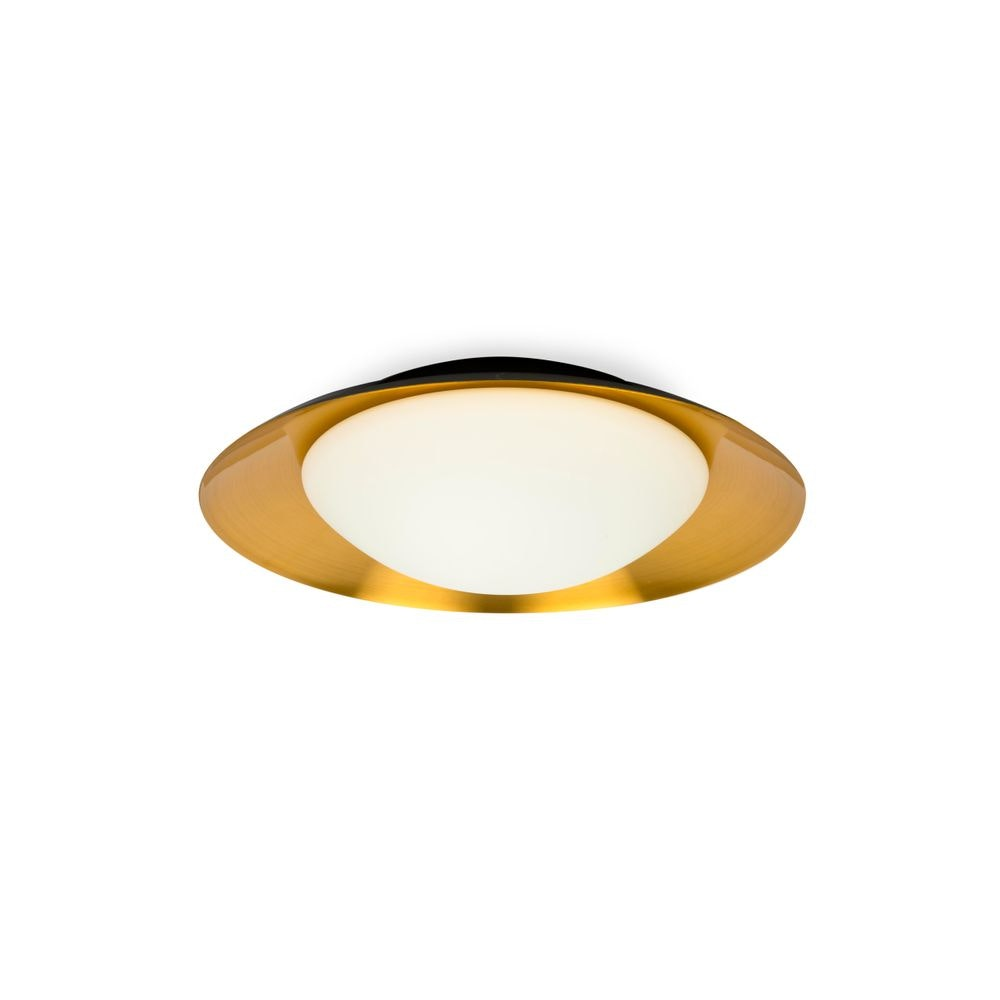 LED Deckenleuchte SIDE 15W IP20 Schwarz, Kupfer