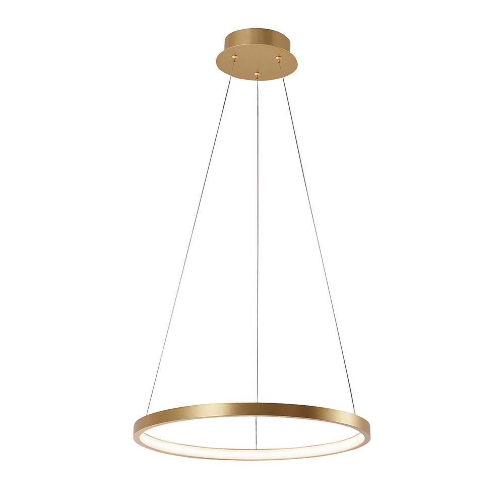 LED Ring-Pendelleuchte Circle Ø 39cm
