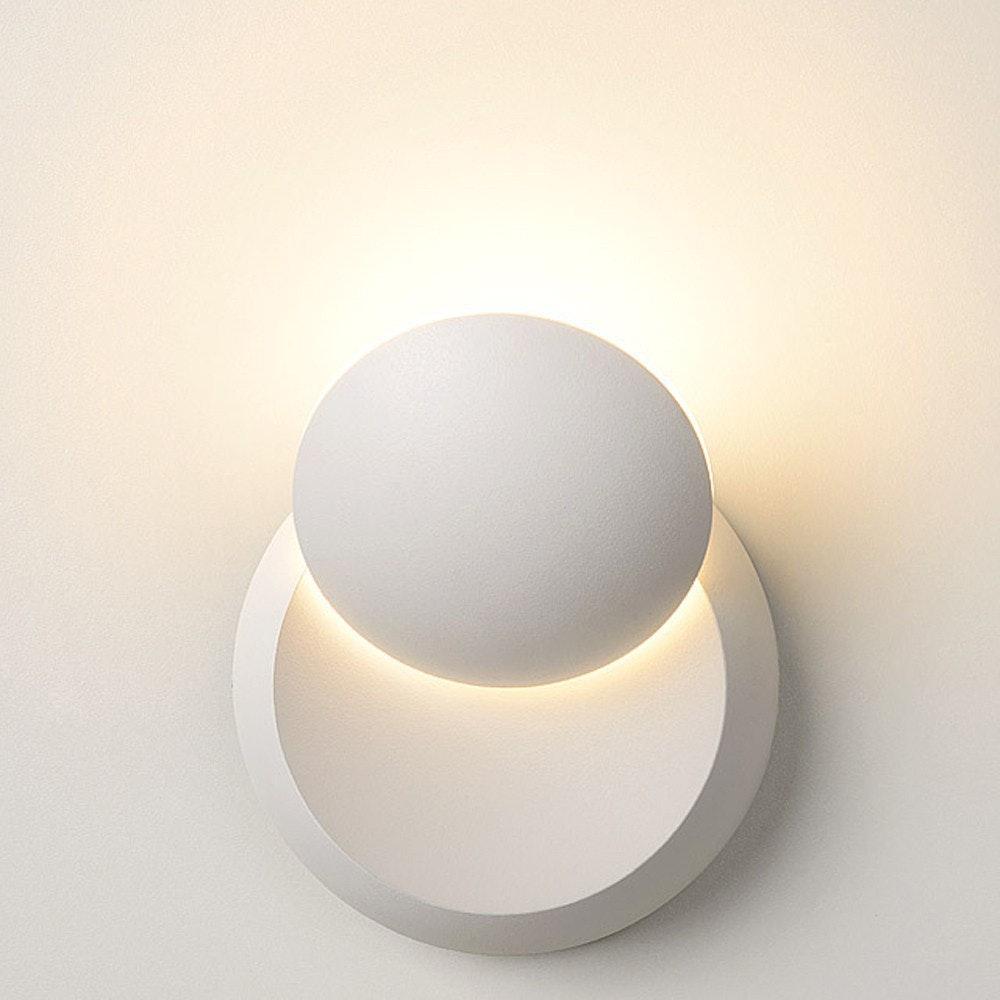 Licht-Trend drehbare LED-Wandleuchte Moon 350lm Goldfarben 4