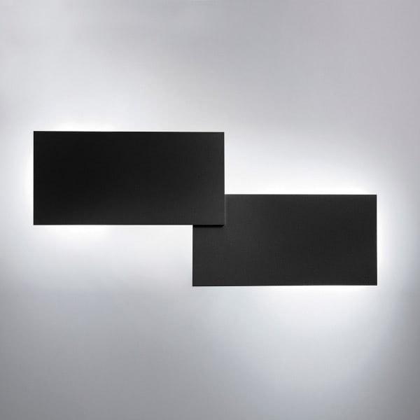 Lodes Puzzle Double eckig 66cm LED Wand- & Deckenleuchte 7