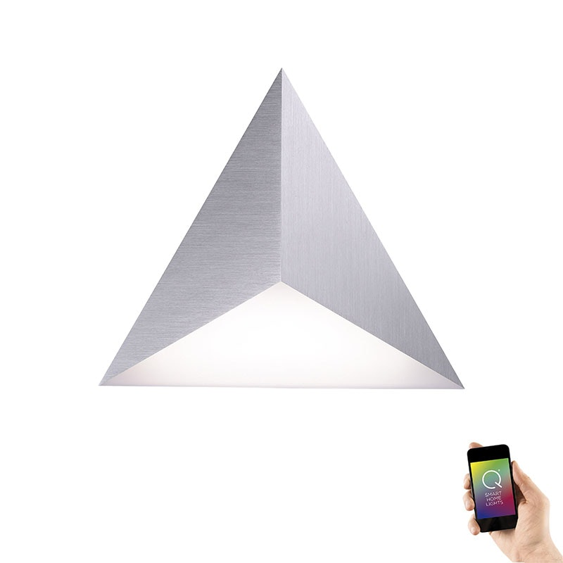 Smarte LED Wandlampe Q-Tetra RGB+CCT Satellite-Erweiterungsmodul