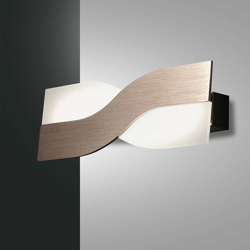Fabas Luce LED Wandlampe Riace Metall 4