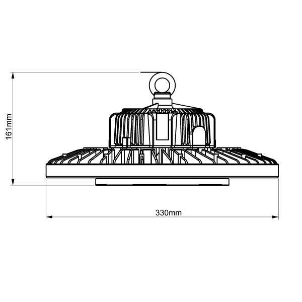 LED Hallenstrahler 150W 20250lm IP65 120° Neutralweiß 2