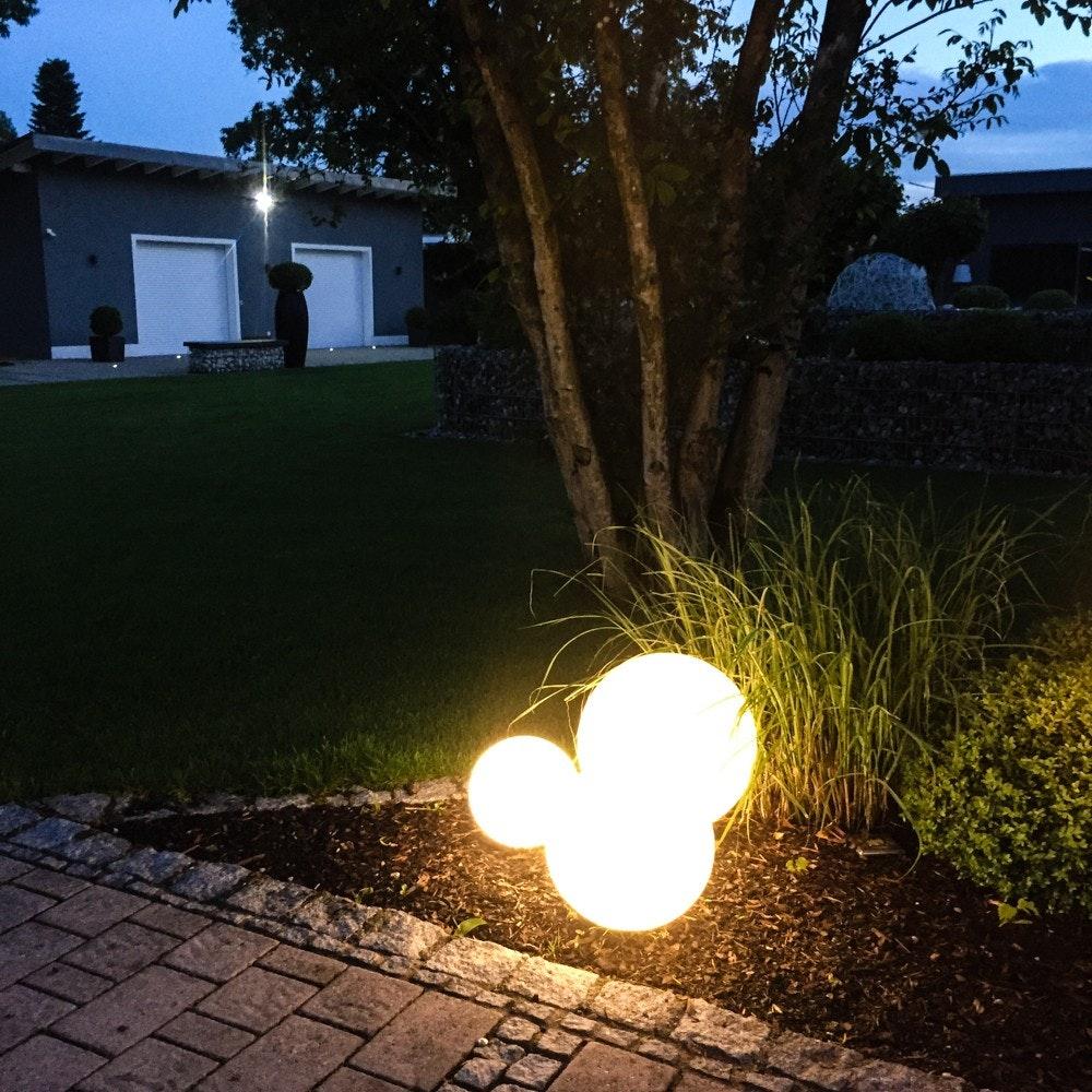 s.LUCE Globe+ Set Garten Kugelleuchten  7
