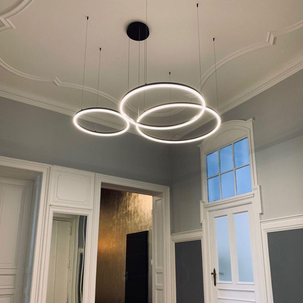 s.LUCE Ring Umbau zentrisch / exzentrisch (ohne LED-Ringe) 3