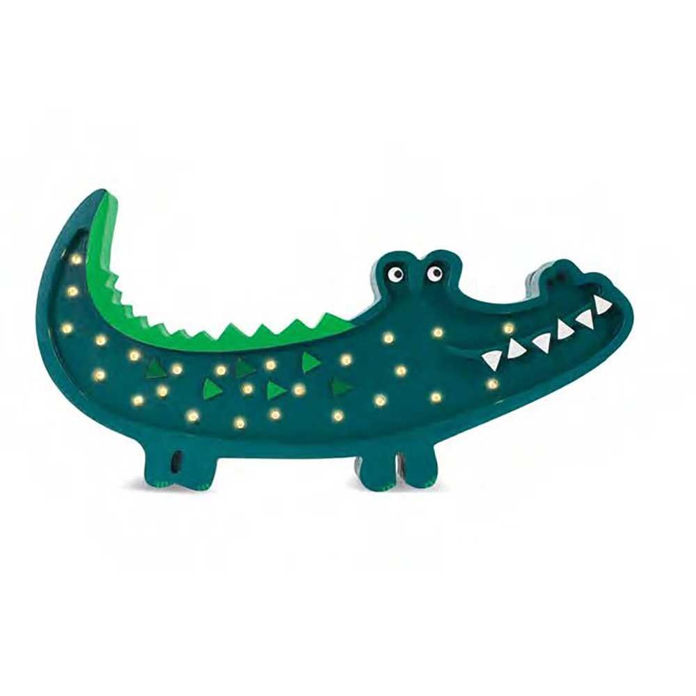 Little Lights Kinder Wand- & Tischleuchte Krokodil  1