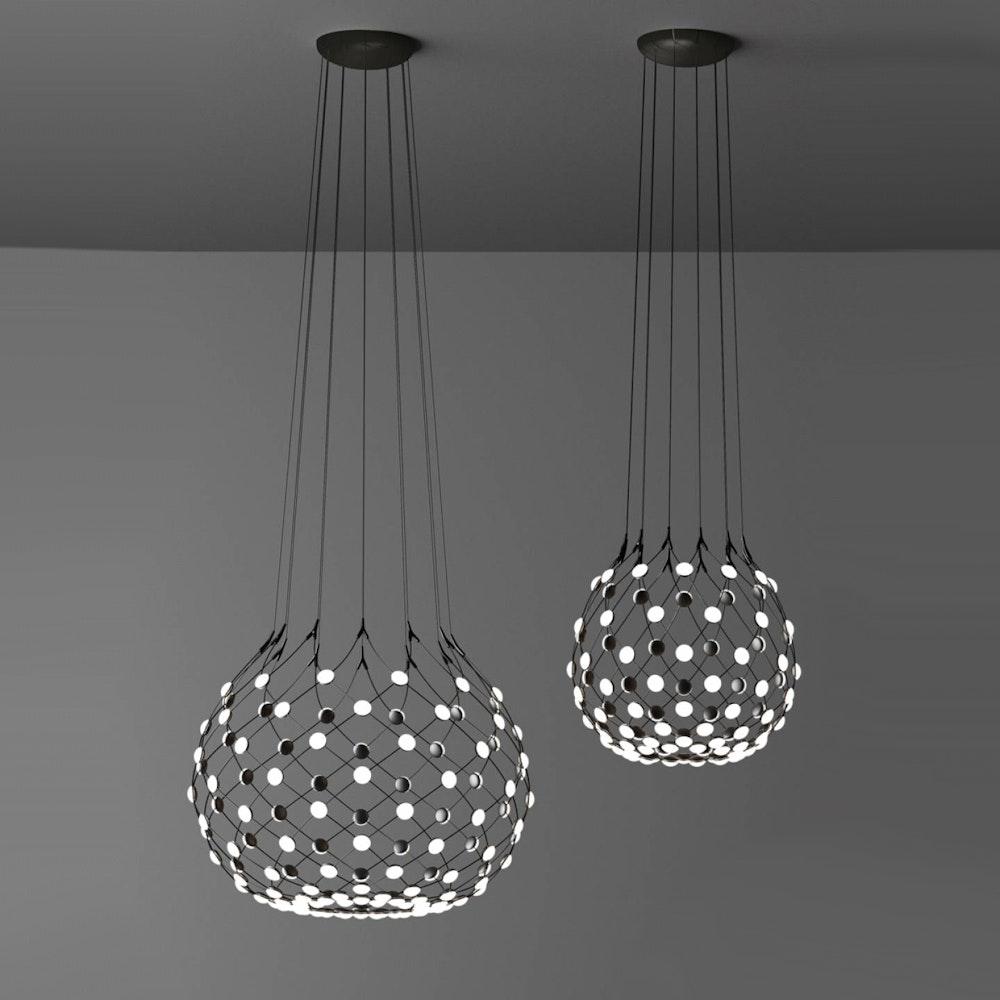 Luceplan LED Hängeleuchte Mesh Ø 55cm, max. 500cm thumbnail 5