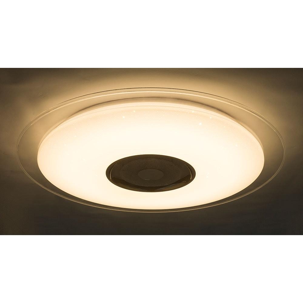 LED Deckenleuchte Tune Sparkle Decor Lautsprecher CCT APP Weiß, Opal, Klar 1