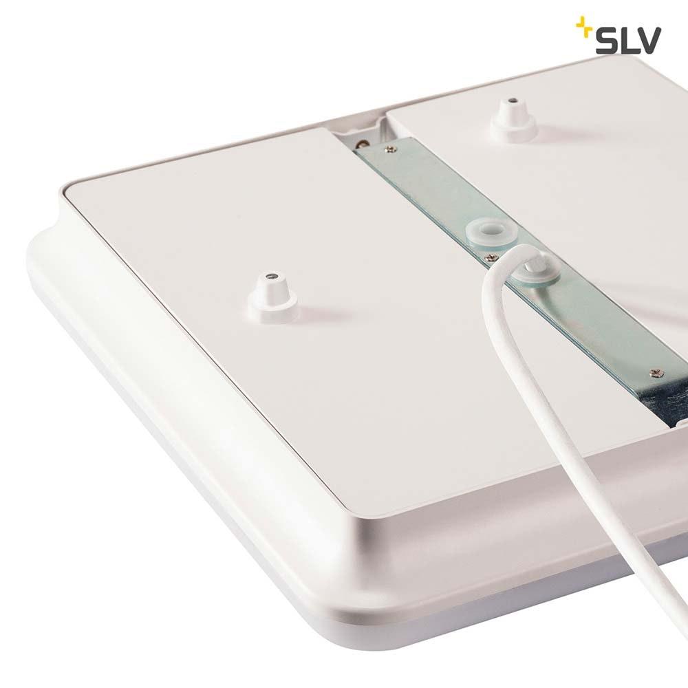SLV Sima Wand- und Deckenleuchte LED 3000K Eckig mit RF-Sensor 4