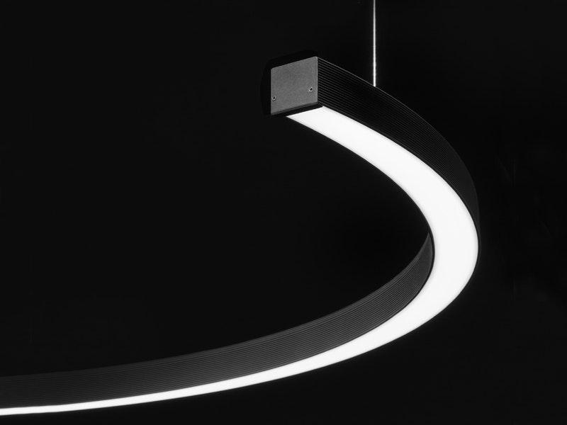 Panzeri Brooklyn Halb-Ring LED-Deckenlampe thumbnail 4