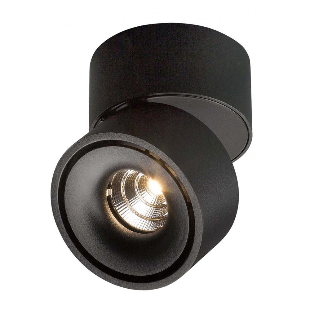 Licht-Trend LED Aufbaulampe Simple 1320lm Schwarz 2