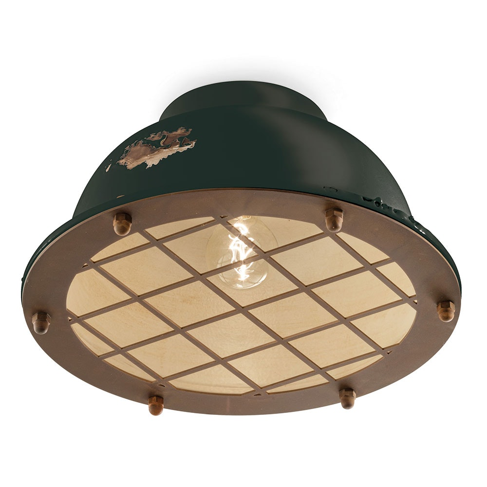 Ferroluce Industrial Deckenlampe 3